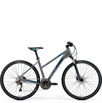 Велосипед Merida Crossway 500 Lady (2019) Matt-Dark Silver