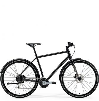 Велосипед Merida Crossway Urban 100 (2019) Glossy Black