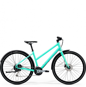 Велосипед Merida Crossway Urban 100 Lady (2019) Matt-Mint Green