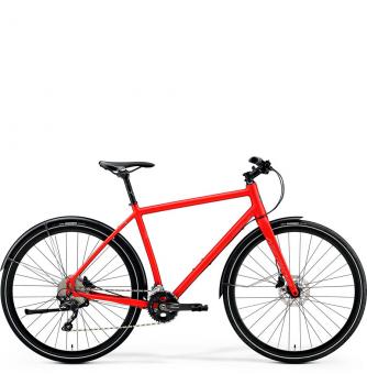 Велосипед Merida Crossway Urban 500 (2019) Matt-Metallic Red