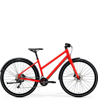 Велосипед Merida Crossway Urban 500 Lady (2019) Matt-Metallic Red