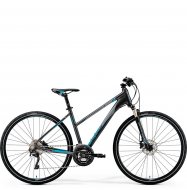 Велосипед Merida Crossway XT Edition Lady (2019) DarkSilver