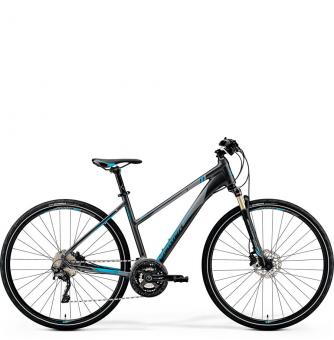 Велосипед Merida Crossway XT Edition Lady (2019) DarkSilver