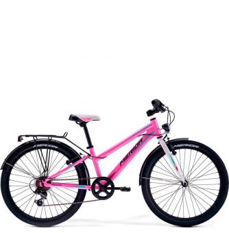 Подростковый велосипед Merida Princess J24 Pink/White (2019)