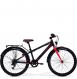 Подростковый велосипед Merida Dino J24 MattBlack/Red (2019) 1