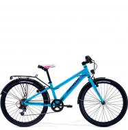 Подростковый велосипед Merida Bella J24 Blue/Blue (2019)