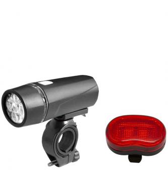Комплект фонарь+фара Xingcheng, 3 режима