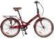 Складной велосипед Shulz Krabi V-brake sangria (2020) 1