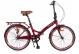 Складной велосипед Shulz Krabi V sangria (2019) 2