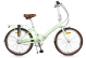 Складной велосипед Shulz Krabi V pistachio (2019) 1
