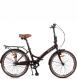 Складной велосипед Shulz Krabi Coaster brown (2020) 1