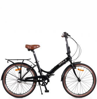 Складной велосипед Shulz Krabi V-brake black (2020)