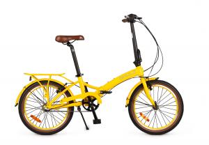 Складной велосипед Shulz Goa V yellow (2019)
