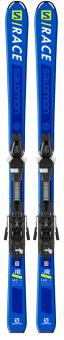 Горные лыжи Salomon E S/Race JR M + L7 B80 (2019)