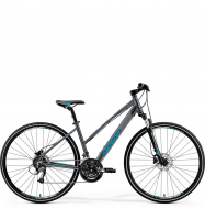 Велосипед Merida Crossway 40-D Lady (2019) DarkSilver/Blue