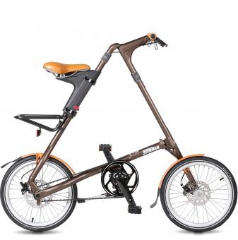 Складной велосипед Strida SD (2019) бронзовый