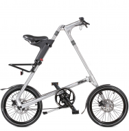 Складной велосипед Strida SD (2019) серебристый металлик