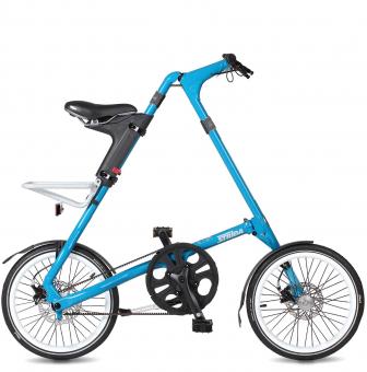 Складной велосипед Strida SX (2019) голубой