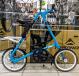 Складной велосипед Strida SX (2019) голубой 1