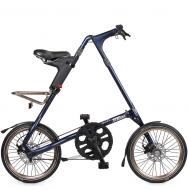 Складной велосипед Strida SX (2019) темно-синий