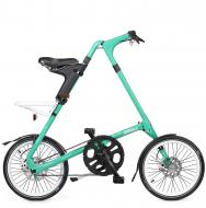 Складной велосипед Strida SX (2019) мятно-зеленый