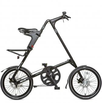 Складной велосипед Strida SX (2019) черный матовый