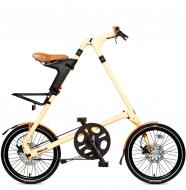 Складной велосипед Strida SX (2019) кремовый
