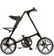 Складной велосипед Strida LT (2019) черный матовый 1