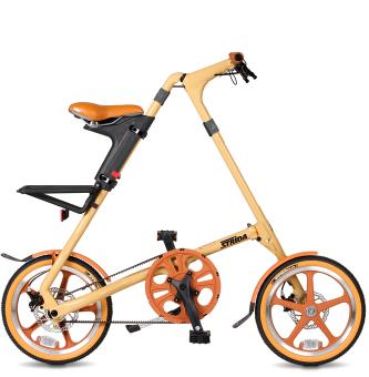 Складной велосипед Strida LT (2019) кремовый