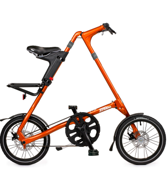 Складной велосипед Strida 5.2 (2019) рыжий