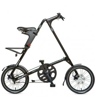Складной велосипед Strida 5.2 (2019) черный матовый