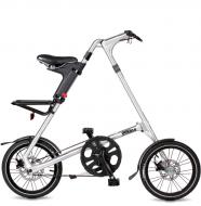 Складной велосипед Strida 5.2 (2019) серебристый металлик