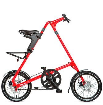 Складной велосипед Strida 5.2 (2019) красный