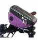 Велосумка Tim&Sport на руль City фиолетовая 1