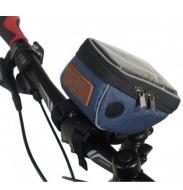 Велосумка Tim&Sport на руль City синяя