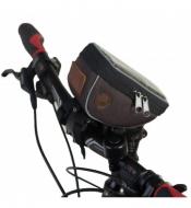 Велосумка Tim&Sport на руль City коричневая