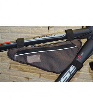 Велосумка Tim Sport под раму Velar коричневая