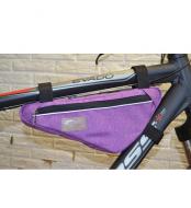Велосумка Tim Sport под раму Velar фиолетовая