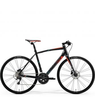 Велосипед Merida Speeder 90 Black/Red/Green