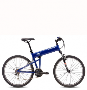 Велосипед Montague Paratrooper Express синий (2019)