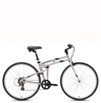 Велосипед Montague Crosstown серебристый (2019)
