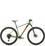 Велосипед Cube Analog 29 (2020) green´n´orange