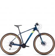 Велосипед Cube Aim SL 29 (2020) blueberry´n´flashyellow