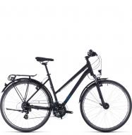 Велосипед Cube Touring Trapeze (2020) black´n´blue