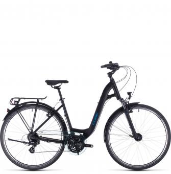 Велосипед Cube Touring Easy Entry (2020) black´n´blue