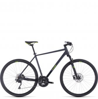 Велосипед Cube Cross Pro (2020) iridium´n´green