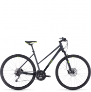 Велосипед Cube Cross Pro Trapeze (2020) iridium´n´green