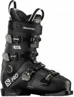 Горнолыжные ботинки Salomon S/PRO 100 black/belluga/red (2020)