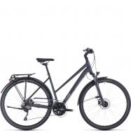 Велосипед Cube Touring EXC Trapeze (2020) iridium´n´silver