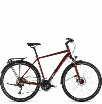 Велосипед Cube Touring EXC (2020) red´n´grey